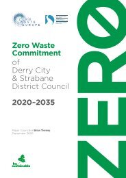 Zero Waste Commitment of Derry City and Strabane District Council 2020-2035