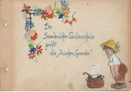Dankebuch Cecilienschule 1946