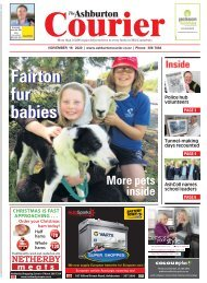 Ashburton Courier: November 19, 2020