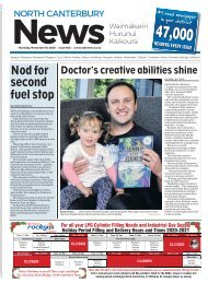 North Canterbury News: November 19, 2020