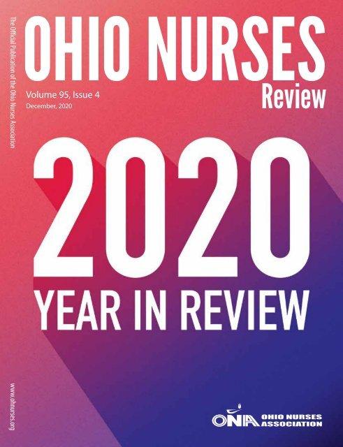 Ohio Nurses Review - December 2020