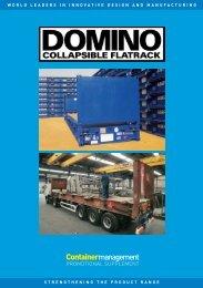 Containermanagement - Domino Flatracks