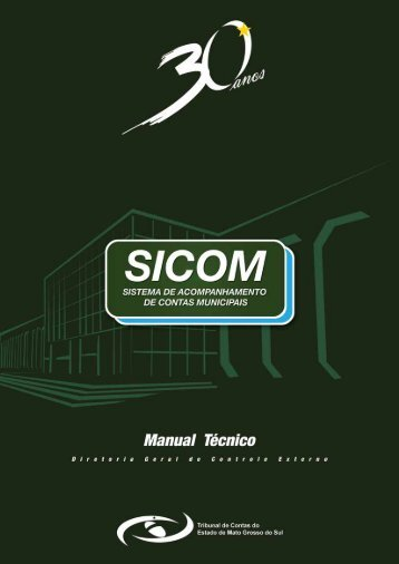manual do sicom - TCE - MS