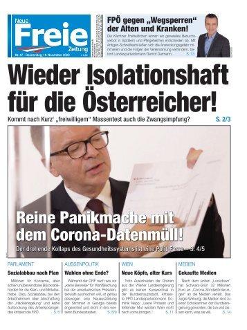 """Wieder """"Isolationshaft"""" für die Österreicher!"""