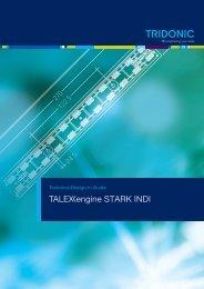 Wiring diagram for TALEXXengine STARK INDI CLASSIC ... - Tridonic