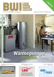 """Ohne Öl und Gas """"Wärmepumpe"""" - Bauen Wohnen Immobilien"""