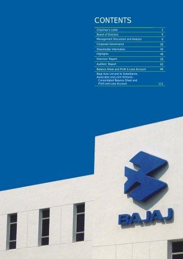 Annual Report 2003-04 View PDF - Bajaj Auto