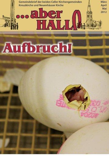 ...aber HALL Aufbruch! - Kreuzkirche Celle