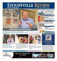 Stouffville Review - Nov 01, 2020