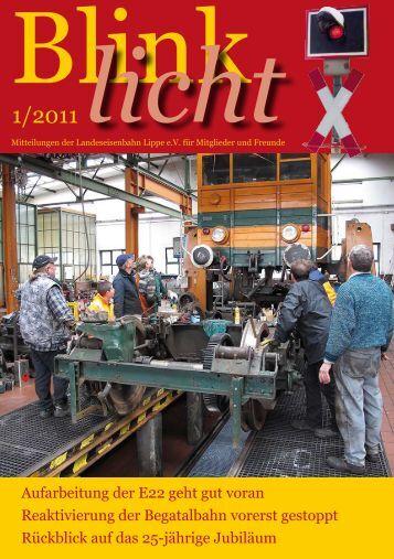 25 Jahre LEL - bei der Landeseisenbahn Lippe