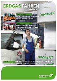 Das Magazin - September 2012 - Erdgasfahrzeuge