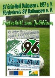 SV Dalhausen und Freunde - Hannover 96 II U23