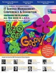 IT Service Management Conference & Exhibition - Pink Elephant