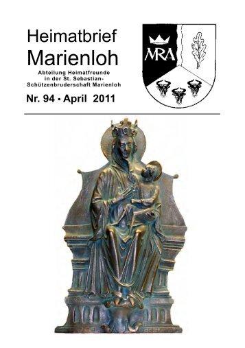 1986 - 25 Jahre - 2011 - Heimatbriefe Marienloh