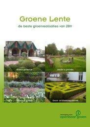 'Groene Lente 2011' met