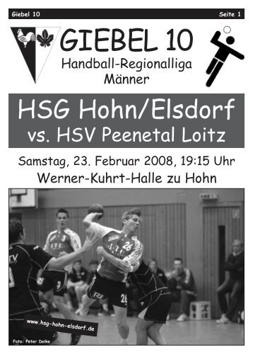 Giebel 10.qxd - HSG Hohn / Elsdorf