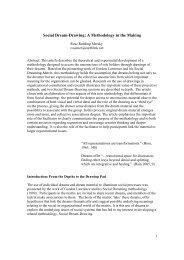 Social Dream.Drawing.Socio Analysis. - Rose Redding Mersky