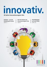 innovativ. 20 Jahre Innovationsregion Ulm