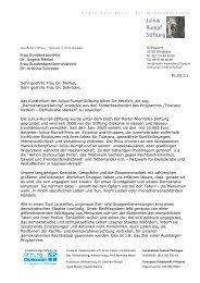 Julius Rumpf Stiftung - 1. Februar 2011: Bundesweiter Aktionstag für ...