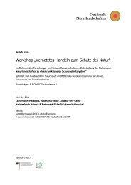 Vernetztes Handeln zum Schutz der Natur - EUROPARC Deutschland