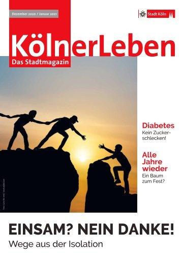 KölnerLeben Dezember 2020/Januar 2021
