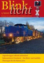 licht - bei der Landeseisenbahn Lippe