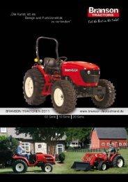 Branson Katalog downloaden - Sievershofer Traktoren