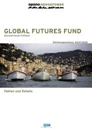 der global futures fund-handelsansatz - Fondsvermittlung24.de