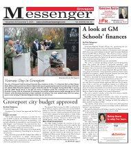 Groveport Messenger - November 22nd, 2020