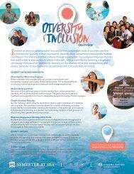 Diversity & Inclusion on Semester at Sea