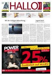 Hallo-Allgäu  vom Samstag, 21.November