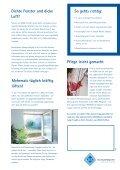 LÜFTEN UND PFLEGE - bei Sievers Fenster und Türen - Page 2