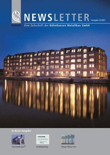 NEWSLETTER - Hansen Group