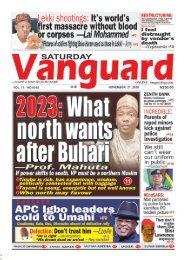 21112020 - 2023 What north wants after Buhari