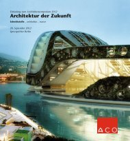 Architektur der Zukunft - Arcguide