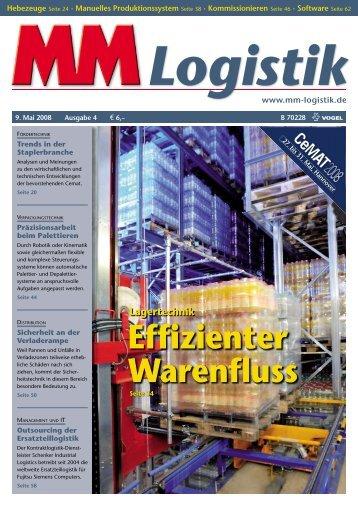 Effizienter Warenfluss - MM Logistik