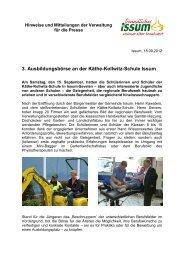 3. Ausbildungsbörse an der Käthe-Kollwitz-Schule Issum - Trend ...