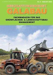 Beschaffungsdienst GaLaBau - Ausgabe August 2009