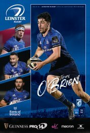 Leinster Rugby v Cardiff Blues