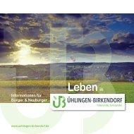 Bürgerbroschüre Ühlingen-Birkendorf
