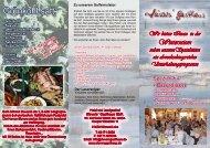Ab 4 Personen zu je 14,50 € pro Person Speziell ... - Sievers Gasthaus