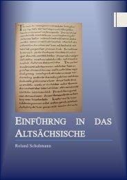 Einführng in das Altsächsische