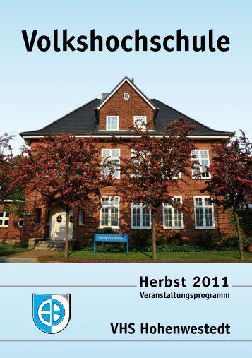 Herbst 2011 - Gemeinde Hohenwestedt