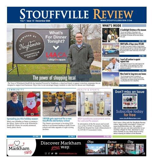 Stouffville Review - Dec 01, 2020