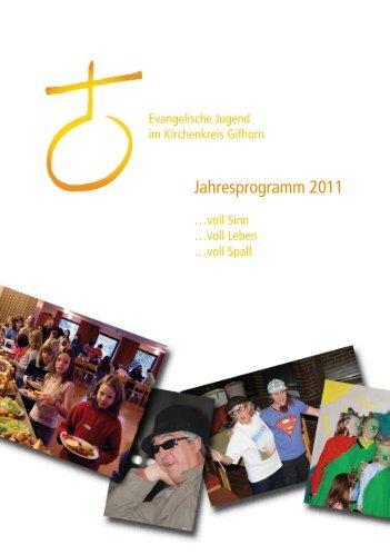 Jahresprogramm 2011 - Jugendserver Niedersachsen