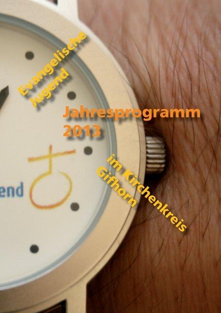 Jahresprogramm 2013 - Jugendserver Niedersachsen