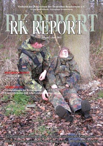 RK-Report I 2011 - Verband der Reservisten der Deutschen ...