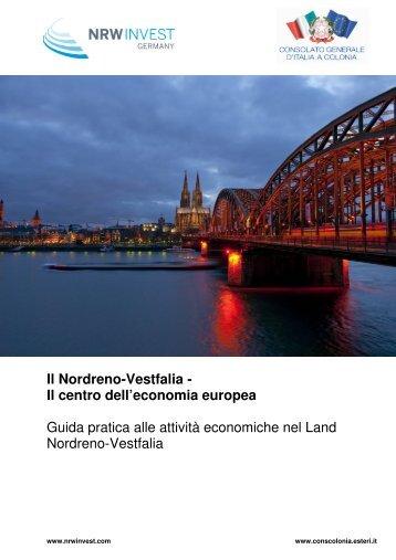 Il Nordreno-Vestfalia - Consolato Generale d'Italia a Colonia