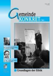 MV-Delegiertentagung 2004 - Thomas Schirrmacher