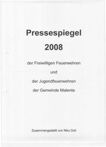 Jahrgang 2008 - Freiwilligen Feuerwehr Malente
